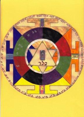 Franz Kafka Angels' Mandala - web